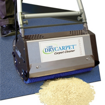 dry carpet cleaning image