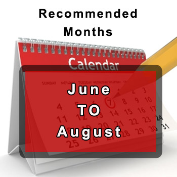June to August cleaning date